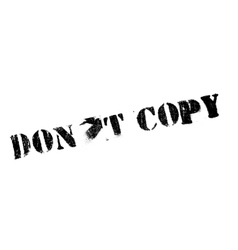 Do not Copy rubber stamp vector