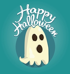 Ghost Halloween vector