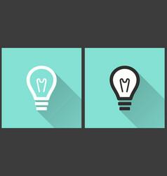 Lamp - icon vector