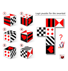Logic puzzle game for smartest need to find the vector
