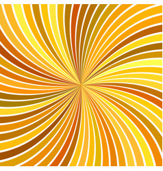 Orange abstract psychedelic swirl stripe vector