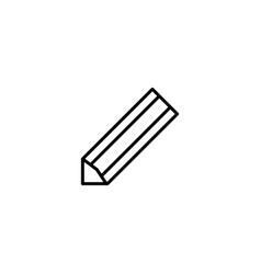pencil drawing icon vector image
