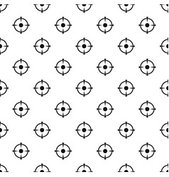 Reticle target pattern seamless vector