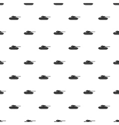 Tank pattern simple style vector image