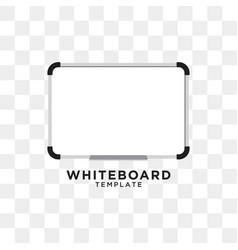 Whiteboard graphic design template vector