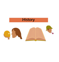 Assembly flat icons book classics vector