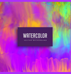 awesome watercolor texture background with vector image