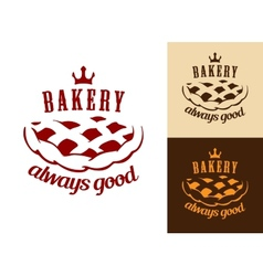 Bakery food symbol vector