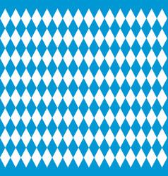 bavarian flag seamless pattern vector image