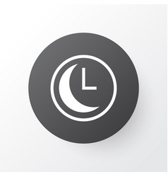 clock icon symbol premium quality isolated time vector image