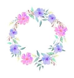 Flowers set elegant floral collection vector