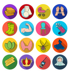 Leisure business trade and other web icon in vector