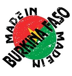 Made in Burkina Faso vector image vector image