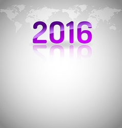 New Year Empty Layout vector image