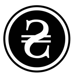 sign currency ukraine hryvnia ukraine hryvnia vector image vector image