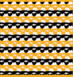 1960s style lace ribbon trim stripes seamless vector