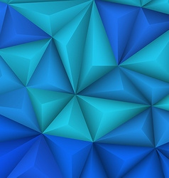 Abstract geometrical blue background vector image