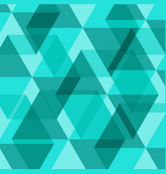 Abstract green geometric template background vector
