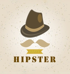 hipster element vector image