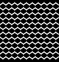 seamless pattern smooth lattice tissue structure vector image
