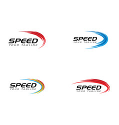 Speed icon simple design vector