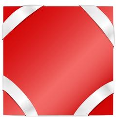 Corner Bordered Background vector image vector image