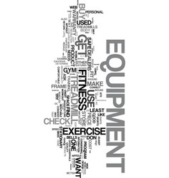 your health is important get fit for life text vector image