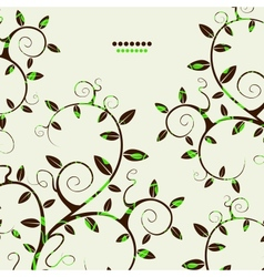 Abstract branches background vector image