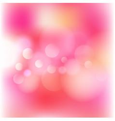 Blurred bokeh lights background vector