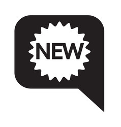 new icon symbol design vector image