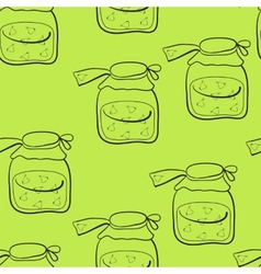 pear jam vector image