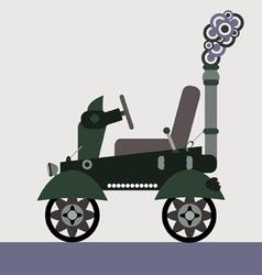 steam machine vector image