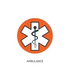 Ambulance szmbol medical vector
