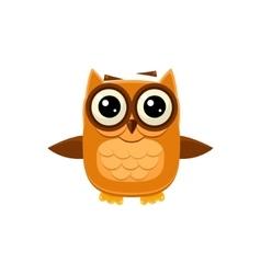 Brown Owl Wants A Hug vector image vector image