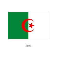 Algeria flag algeria flag vector