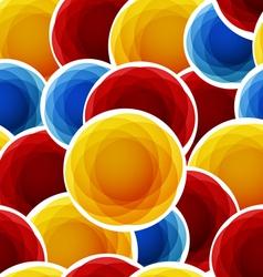 Circular Pattern Background vector image