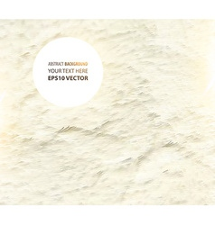 Textured Creme Background vector image