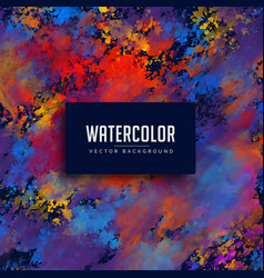 Abstract watercolor stain background vector