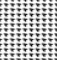 Black fish tails pattern on a white background vector image