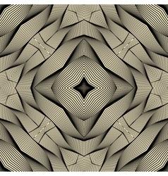 Engineering draft seamless pattern vector image