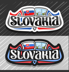 Logo for slovakia vector