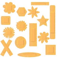 Plasters vector