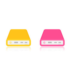 Power banks vector