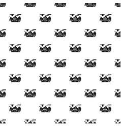 western saloon pattern seamless vector image