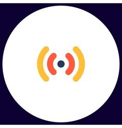 Wi-Fi computer symbol vector