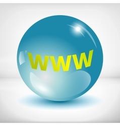 www icon vector image vector image