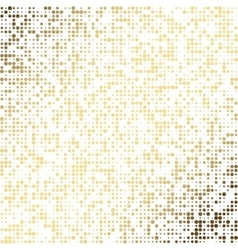 Golden dot abstract background EPS 10 vector image