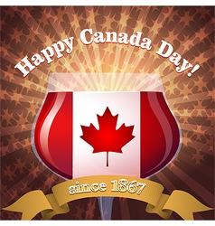 Canada day goblet vs vector