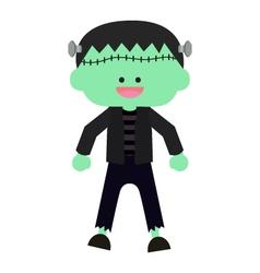 cute halloween zombie vector image