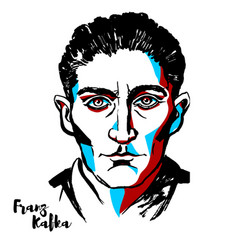 Franz kafka vector